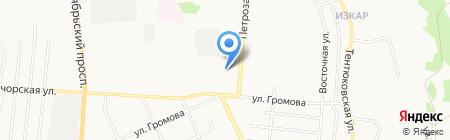 Гидравлика Пневматика на карте Сыктывкара
