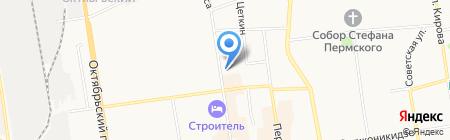 ЭкоБутик на карте Сыктывкара