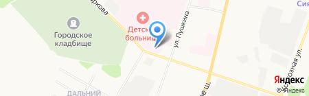 Республиканский кожно-венерологический диспансер на карте Сыктывкара