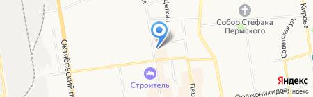 ШАНС на карте Сыктывкара