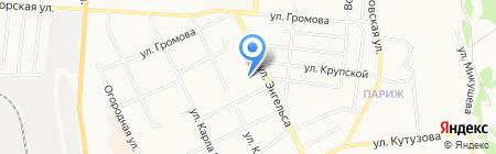 Тройка на карте Сыктывкара