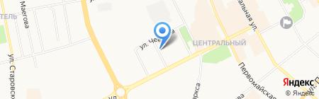 Стиль большого города на карте Сыктывкара