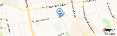 Лицей народной дипломатии на карте Сыктывкара
