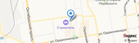 АКБ Пробизнесбанк на карте Сыктывкара