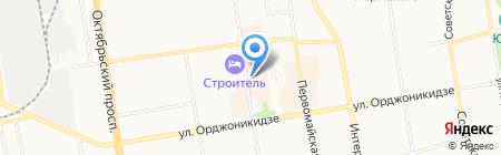 Инфотехпроект на карте Сыктывкара