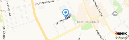 Центр социальной помощи семье и детям г. Сыктывкара на карте Сыктывкара