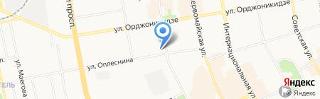 ЭРА на карте Сыктывкара