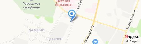 Всероссийское добровольное пожарное общество на карте Сыктывкара