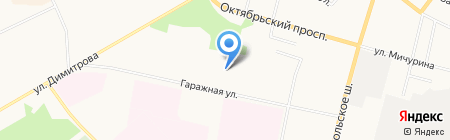 Шторы-тюль на карте Сыктывкара