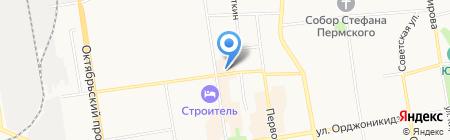 Юнион Финанс на карте Сыктывкара