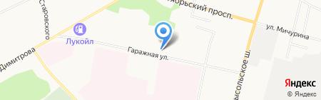 Белком на карте Сыктывкара