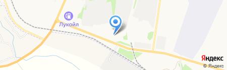 Двина-стройматериалы на карте Сыктывкара