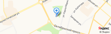 Детский сад №77 на карте Сыктывкара