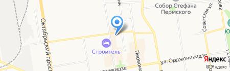 Профит М на карте Сыктывкара