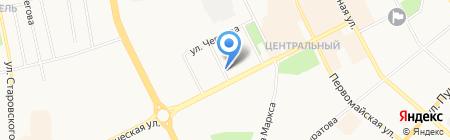 Институт Биологии Коми научного центра Уральского отделения РАН на карте Сыктывкара