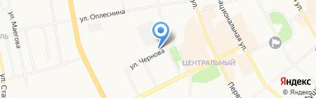 СГСМ на карте Сыктывкара