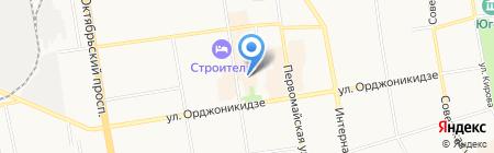 Русалка на карте Сыктывкара