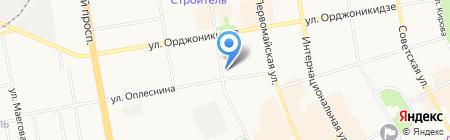 ВИТА на карте Сыктывкара