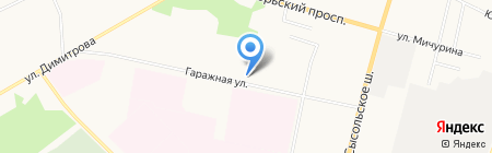 Рой Плюс на карте Сыктывкара