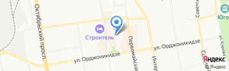 Адвокатский кабинет Гордевой Е.Н. на карте Сыктывкара