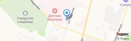 Сыктывкарское протезно-ортопедическое предприятие на карте Сыктывкара