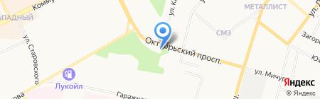 Церковь Христа-Спасителя на карте Сыктывкара
