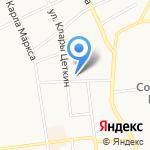 Пимапен на карте Сыктывкара