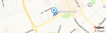 Музей археологии Институт языка на карте Сыктывкара