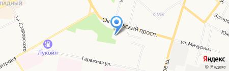 Лидер на карте Сыктывкара