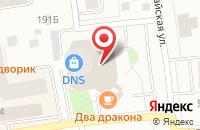 Схема проезда до компании КВЕСТ в Сыктывкаре