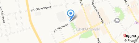 Министерство образования Республики Коми на карте Сыктывкара