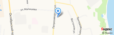 АЗС Лукойл на карте Сыктывкара