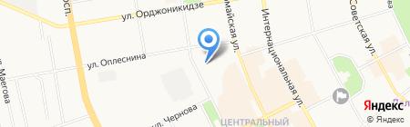 Детский сад №29 на карте Сыктывкара