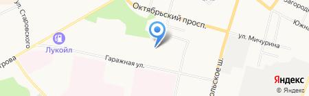 Формула-1 на карте Сыктывкара