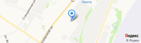 Автоконтроль на карте Сыктывкара