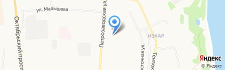 Павис+ на карте Сыктывкара