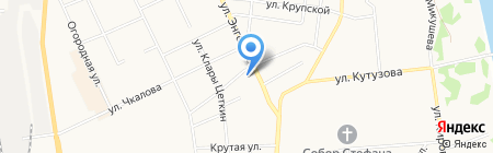 Очаг на карте Сыктывкара
