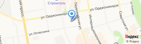 Институт геологии Коми научного центра Уральского отделения РАН на карте Сыктывкара