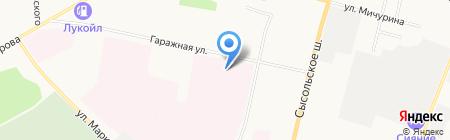 Патологоанатомическое бюро ГБУ РК на карте Сыктывкара