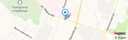 ДОСААФ России на карте Сыктывкара