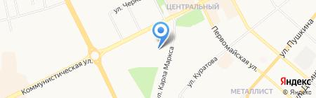 Геотехпроект на карте Сыктывкара
