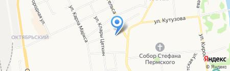 Жилкомсервис на карте Сыктывкара