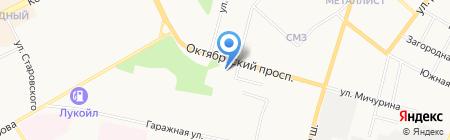 Отдел государственного контроля и надзора в Республике Коми на карте Сыктывкара