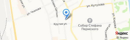 Своя линия на карте Сыктывкара