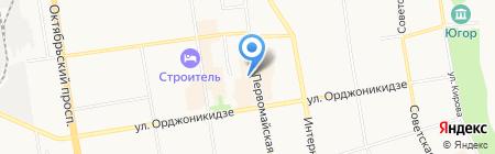 Танцы плюс на карте Сыктывкара