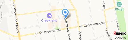 Магазин подарков и сувениров на карте Сыктывкара