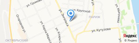 Диаком на карте Сыктывкара