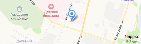 Ремонтно-эксплуатационная компания-2 на карте Сыктывкара