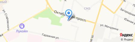 Коми Тест на карте Сыктывкара