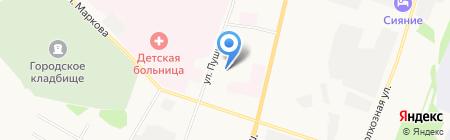 ВентКом на карте Сыктывкара